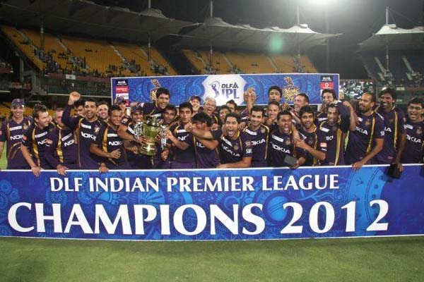 IPL 2012 Season 5 Kolkata Knight Riders Winning Moment Picture Image Photo