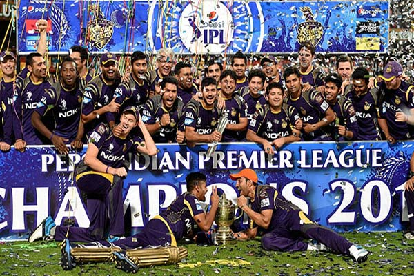 IPL 2014 Season 7 Kolkata Knight Rider Winning Moment Picture Image Photo